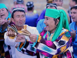 Revived folklore festival Boysun spring in Uzbekistan