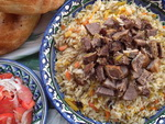 The largest pot of plov in the world to be prepared in Uzbekistan