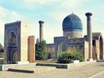 Gur-Emir Mausoleum in Samarkand, Uzbekistan