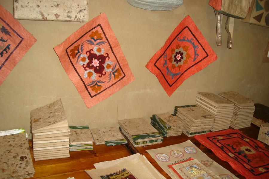 The Ancient Handicrafts Of Uzbekistan Samarkand Paper