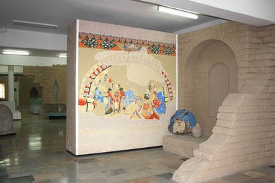 Afrasiab Museum, Samarkand