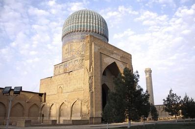 Bibi Khanum Moschee in Samarkand, Usbekistan