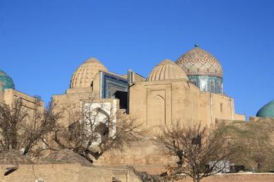 Shakhi-Zinda Burial Vault, Samarkand
