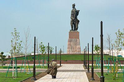 Amir Temur Monument, Shakhrisabz
