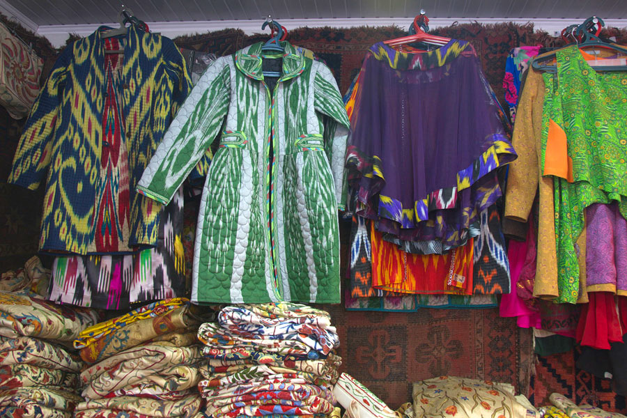 Uzbek National Souvenirs And Gifts Bright Memories About