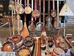 Musical instruments. Uzbek souvenirs