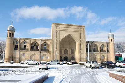 Center of Applied Arts in Abul Kasim Madrasah, Tashkent