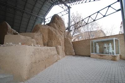 Ancient settlement of Ming Urik, Tashkent