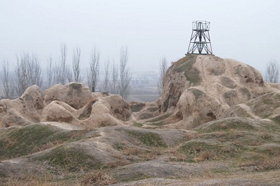 Ancient settlement of Shashtepa, Tashkent