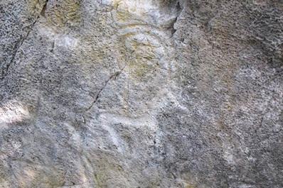 Наскальные рисунки в Ходжикенте