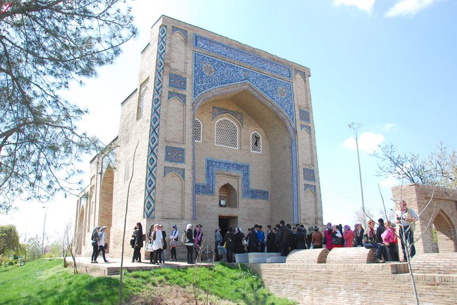 Kaffal-Shashi mausoleum, Tashkent