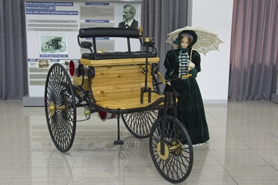 The first Mercedes, Polytechnical museum