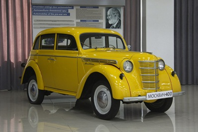 """""""Moskvich-400"""", Polytechnical museum"""