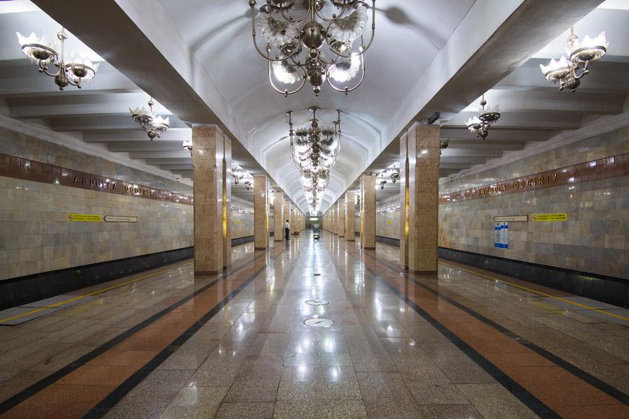 Tashkent Metro The First Underground In Central Asia