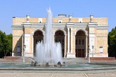 Navoiy Theater in Taschkent, Usbekistan