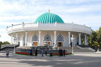 Museum of Amir Temur in Tashkent, Uzbekistan