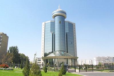 The building of the Association of Banks of Uzbekistan, Tashkent