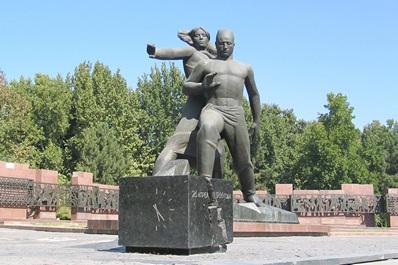 Courage Memorial, Tashkent