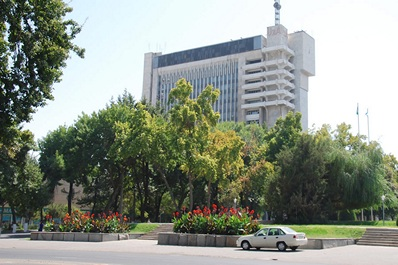 The building of the Sharq - publishing and printing joint-stock company, Tashkent