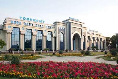 Central Railway Station, Tashkent