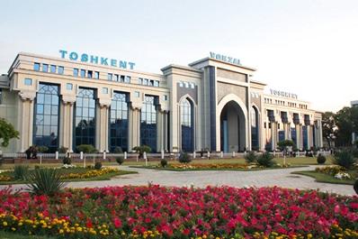 Central Railway Station, Tashkent