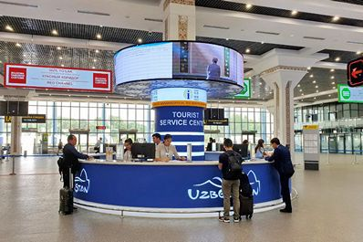 Tourist Service Center, Tashkent Airport