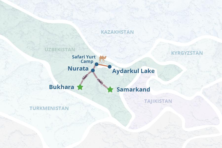Tour Uzbekistan Turkmenistan