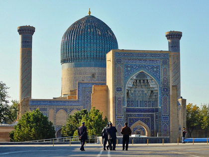 Central Asia on Silk Road