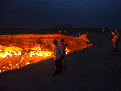 Darvaza Gas Crater Group Tour 2021-2022 (from Khiva)