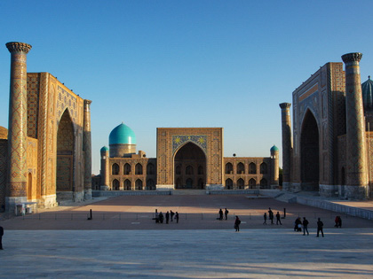 Scheduled Uzbekistan Tours in 2013 with Guaranteed Dates