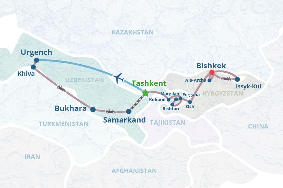 Uzbekistan Kyrgyzstan Tour 2: Tours in Tashkent, Khiva, Bukhara ...