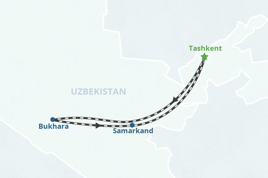 Bukhara and Samarkand - Uzbekistan Tours on damascus map, odessa map, baghdad map, timbuktu map, medina map, kashgar map, indus river map, herat map, singapore map, merv map, tashkent map, central asia map, karakorum map, silk road map, almaty map, oxus river map, urumqi map, uzbekistan map, seville map, rome map,