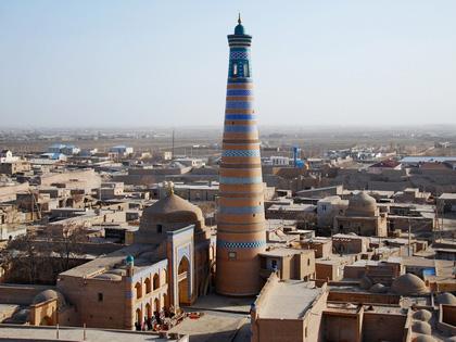 Uzbekistan Tour: Tashkent, Kokand, Fergana, Margilan, Rishtan, Nukus, Muynak, Khiva, Bukhara, Nurata, Shakhrisabz, Samarkand, Termez