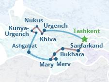 Uzbekistan Turkmenistan Tour - 2