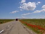 Road to Sarmyshsay