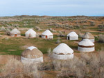 Yurt camp Aydarkul