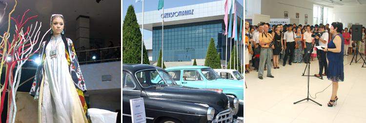 Exhibitions in Uzbekistan