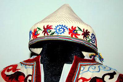 Traditional uzbek cap
