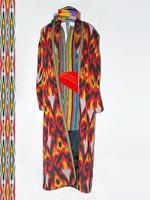 Traditional Uzbek clothing. Tashkent