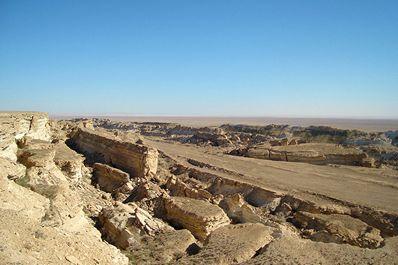 The Ustyurt Plateau