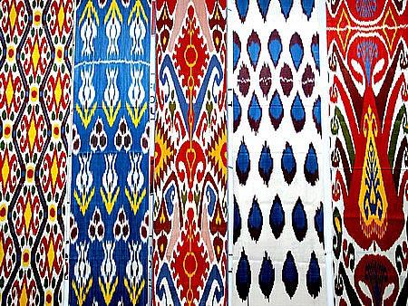 Uzbekistan Handicrafts Uzbek Silk And Cotton Fabrics