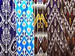 Traditional Uzbek fabrics
