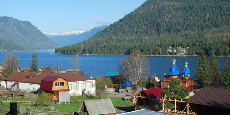 Телецкое озеро, Алтай, Россия