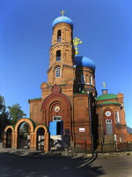 St. Basil's Cathedral in Barnaul