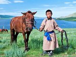 Resident of the Altai, Russia