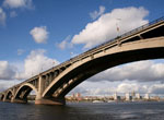 Bridge over the Yenisei River, Krasnoyarsk