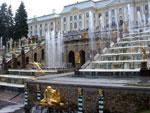 Большой каскад в Петергофе: история, описание, фото
