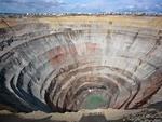 Diamond mining. Yakutia