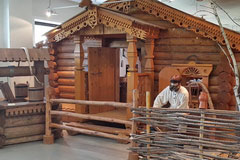Model of the Russian Hut, Russian Culture