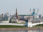 Kazan Kremlin, the Suyumbike Tower